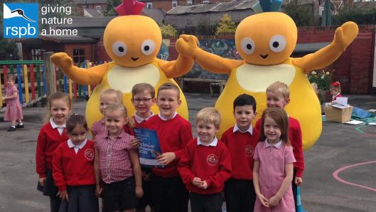 RSPB and Twirlywoos School visit